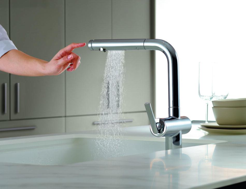 タッチスイッチ水ほうき水栓LF TOTO