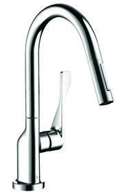 HG39835Y クロム キッチン用湯水混合栓
