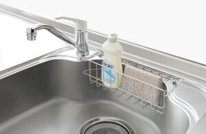 シンク洗剤ラック クリナップコルティW530ラック付シンク(オプション)